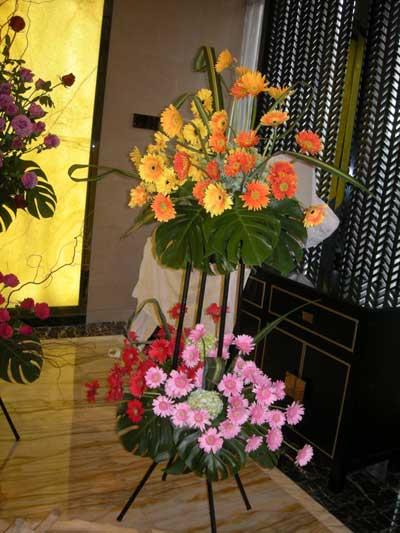 式典装花4